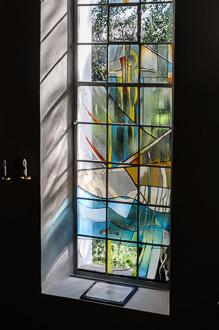 Stifterfenster und Tafel